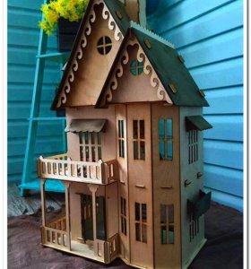 Кукольные домики для Вашей принцессы!