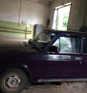 Автомобиль Ваз- 2107