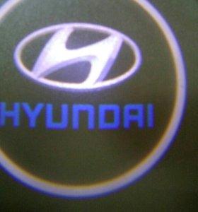 световой логотип