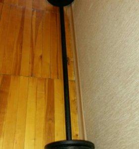 Штанга олимпийская с блинами. Вес 25 кг
