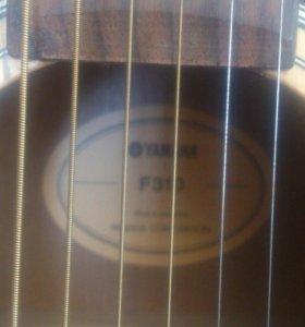 гитара Yamaha f310 классическая +сумка + кападастр