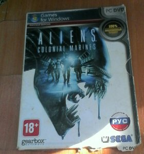 Игровой диск ALIENS COLONIAL MARINES