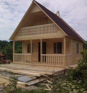 Строительство Домов Бань Беседок из дерева