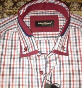 Абсолютно новая рубашка Felipe Ramos размер 48 50