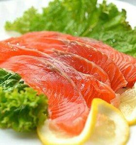 Кижуч (очень вкусная малосольная рыбка)