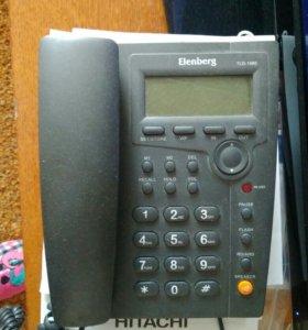 Кнопочный телефон проводной