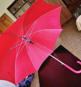 Зонт трость в пластиковом чехле