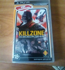 "Игра для PSP ""Killzone: Liberation"""