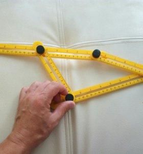 Шаблон для отрезки углов