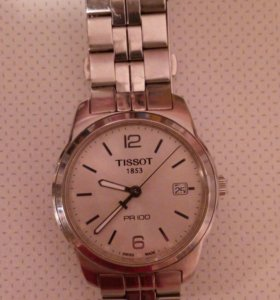 Часы швейцарские тиссот пр100