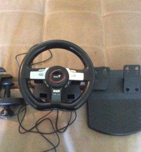Игровой руль Genius Speed Wheel pro 5