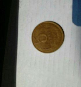 Монеты СССР 5 копеек,1991года,20копеек1977год
