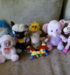 Детские,мягкие игрушки