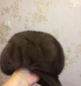 Шапка норковая (кепка)