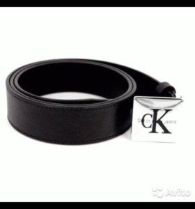 CKJ Calvin Klein jeans кельвин кляйн ремень пряжка
