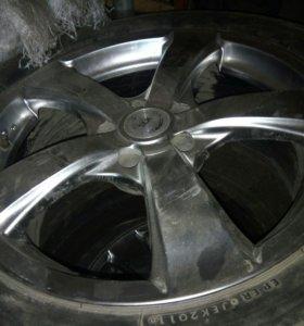Зимние колеса от Nissan X-Trail