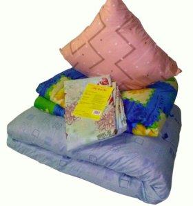 Комплекты : матрац подушка одеяло для рабочих