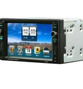 2 Din Мультимедийный центр с сенсорным управлением