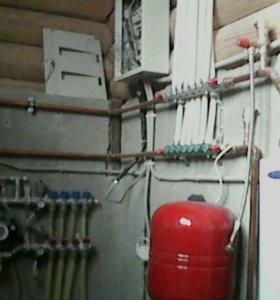 Отопление, сантехнические работы