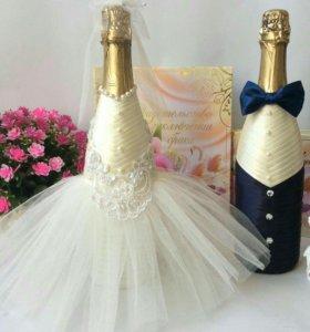 Свадебные наборы ручной работы