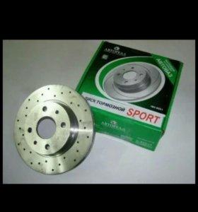 Тормозные диски ВАЗ 2110-2112 вентилируемые