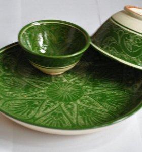 Керамическая посуда.