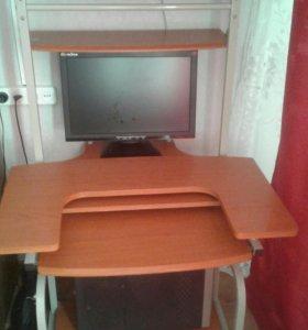 Продаётся компьютерный стол б/у за 1.5тыс руб