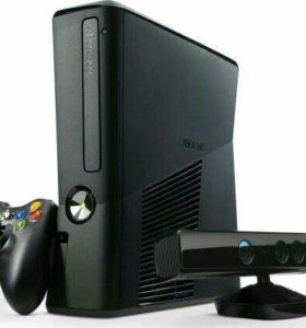 Xbox 360 slim + 250gb+kinect прошивка lt 3.0+игры