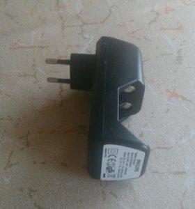 Зарядка для аккумулятора Филипс. 2 слота АА и ААА