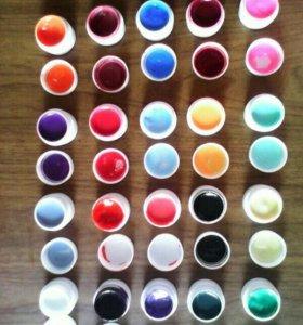 Цветные гели для ногтей