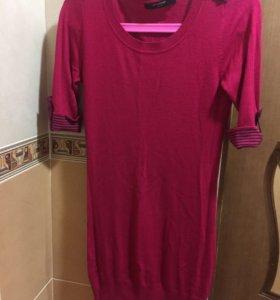Продам яркое новое розовое платье