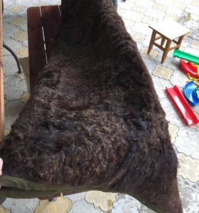 Покрывало (одеяло) из натуральной овчины
