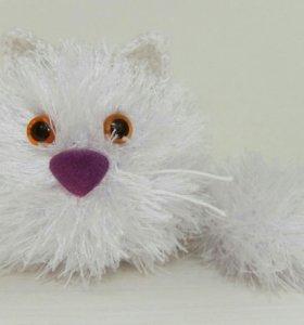 Котик амигуруми