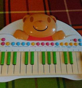 Музыкальное детское пианино