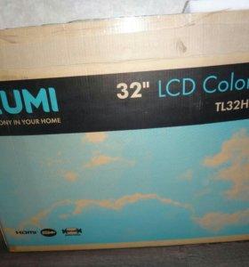 """ЖК LED ТВ """"IZUMI"""" (81см.)32"""". Есть USB. Как НОВЫЙ!"""