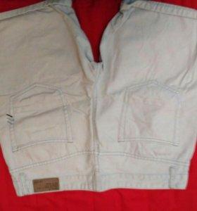 Шотры джинсовые