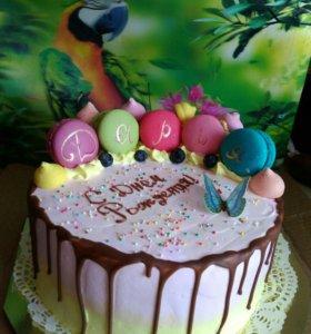Домашние торты,пирожные,капкейки