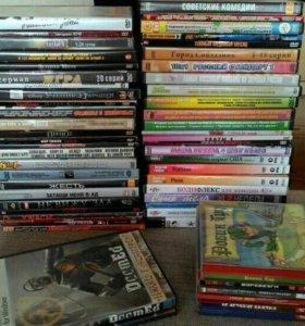DVD диски и компьютерные игры