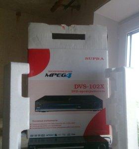 Dvd плеер мультиформат  с USB входом плюс тюльпаны