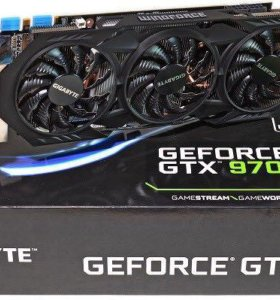 Видеокарта GIGABYTE GTX 970
