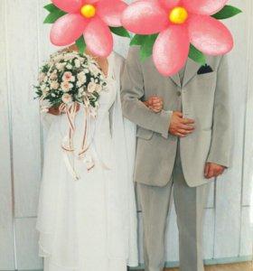Платье свадебное (вечернее)👚