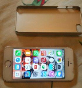 Айфон 5с 16 гб золотой