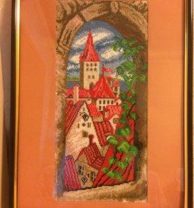 Подарки ручной работы. Картина вышитая крестом