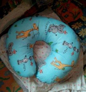 Продам детскую подушку для кормления новая