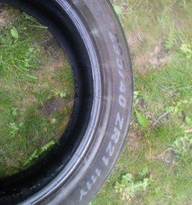 Б/у шины Pirelli p zero 295/40 ZR21 111Y