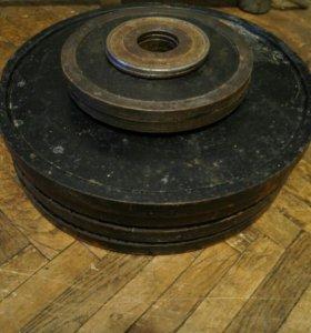 Блины (диски) металлические олимпийские