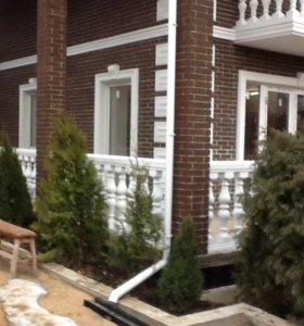 Изготовление деталей фасадного декора из бетона