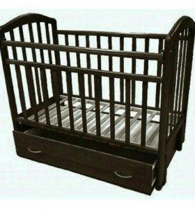 Кровать-маятник с ящиком