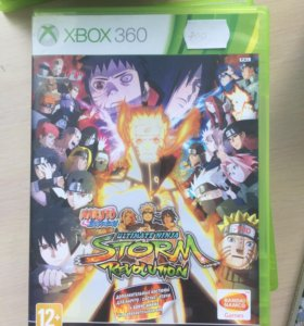 Naruto storm Revolution для Xbox 360