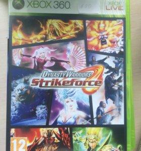 Диск DinastyWarrios StrikeForce на Xbox 360